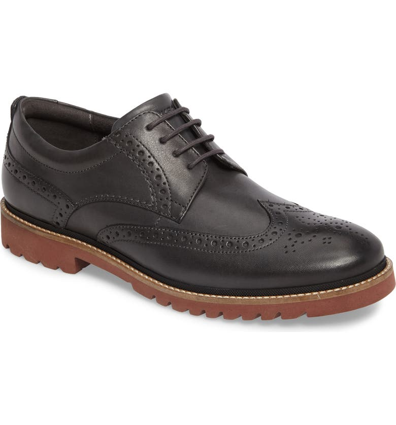 ROCKPORT Marshall Wingtip, Main, color, 020