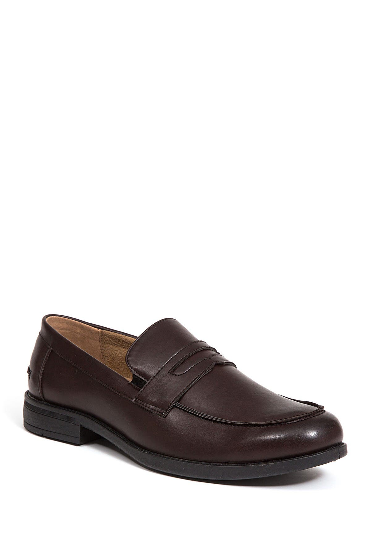 Image of Deer Stags Fund Faux Leather Penny Loafer - Wide Width Available