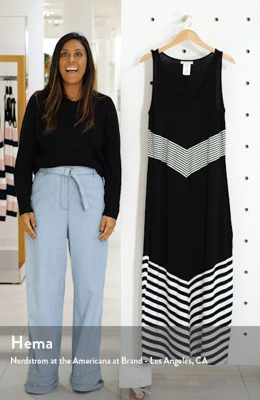 Fine Line Cover Up Maxi Dress, sales video thumbnail