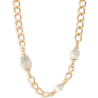 Halogen Bead Chain Collar Necklace