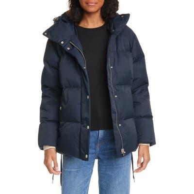 Rag & Bone Leonard Down Fill Puffer Jacket, Blue