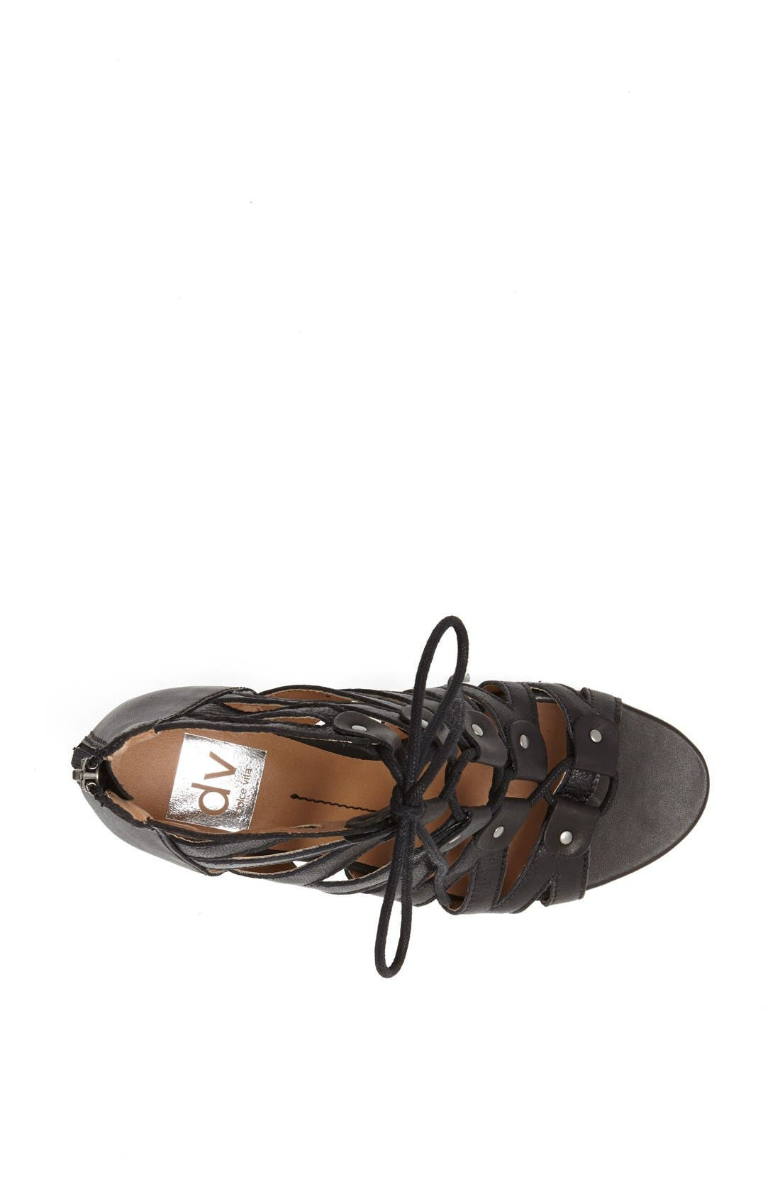 ,                             'Rhoda' Sandal,                             Alternate thumbnail 4, color,                             001