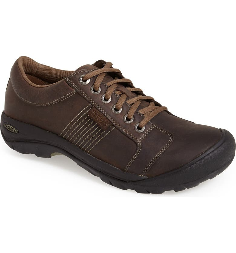 KEEN 'Austin' Sneaker, Main, color, CHOCOLATE BROWN