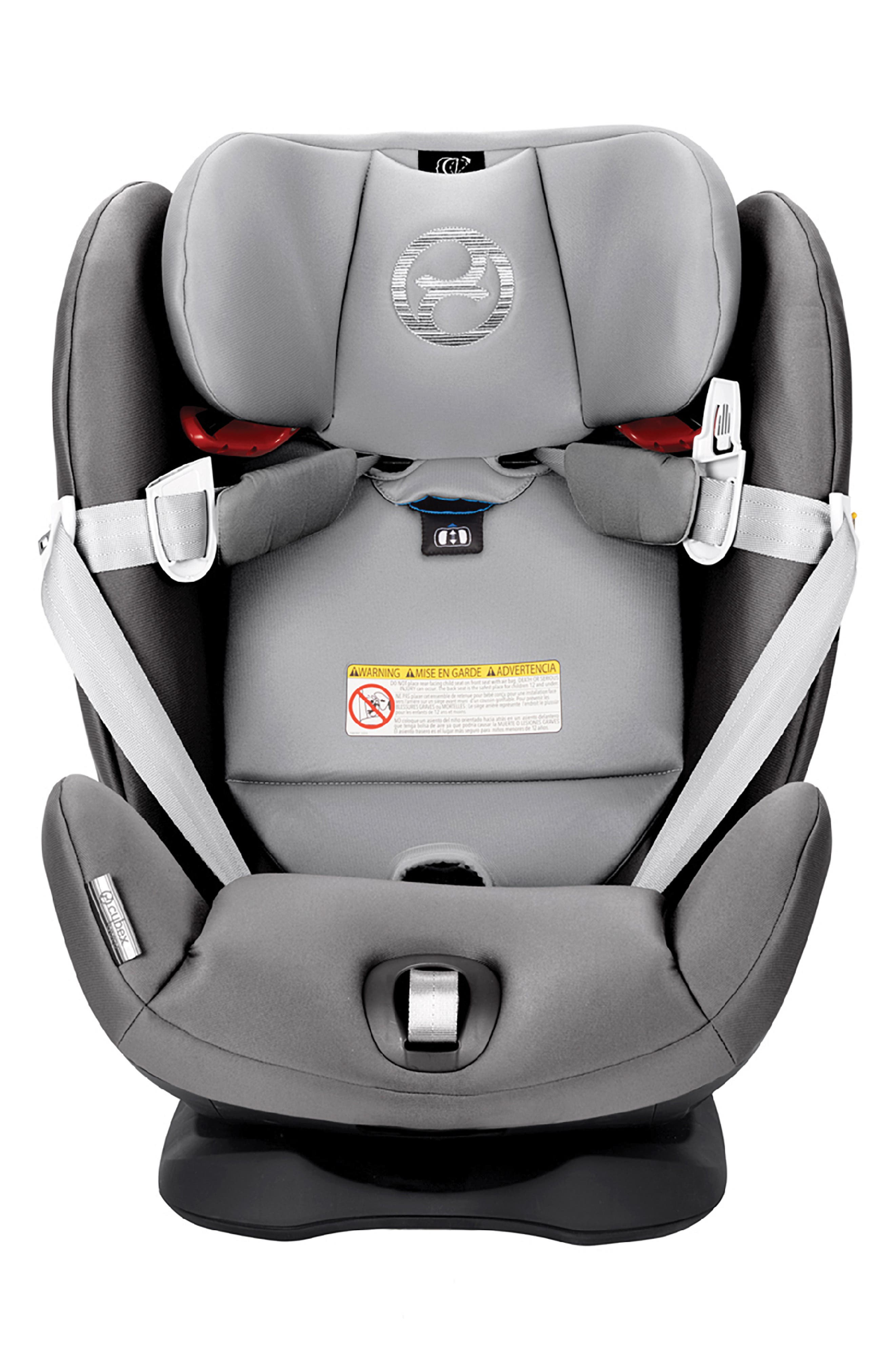 ,                             Eternis S SensorSafe<sup>™</sup> All-in-One Car Seat,                             Alternate thumbnail 9, color,                             BLACK/ GREY