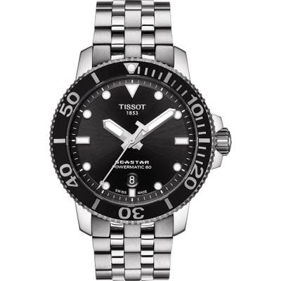Tissot Seastar 1000 Powermatic 80 Bracelet Watch, 4m