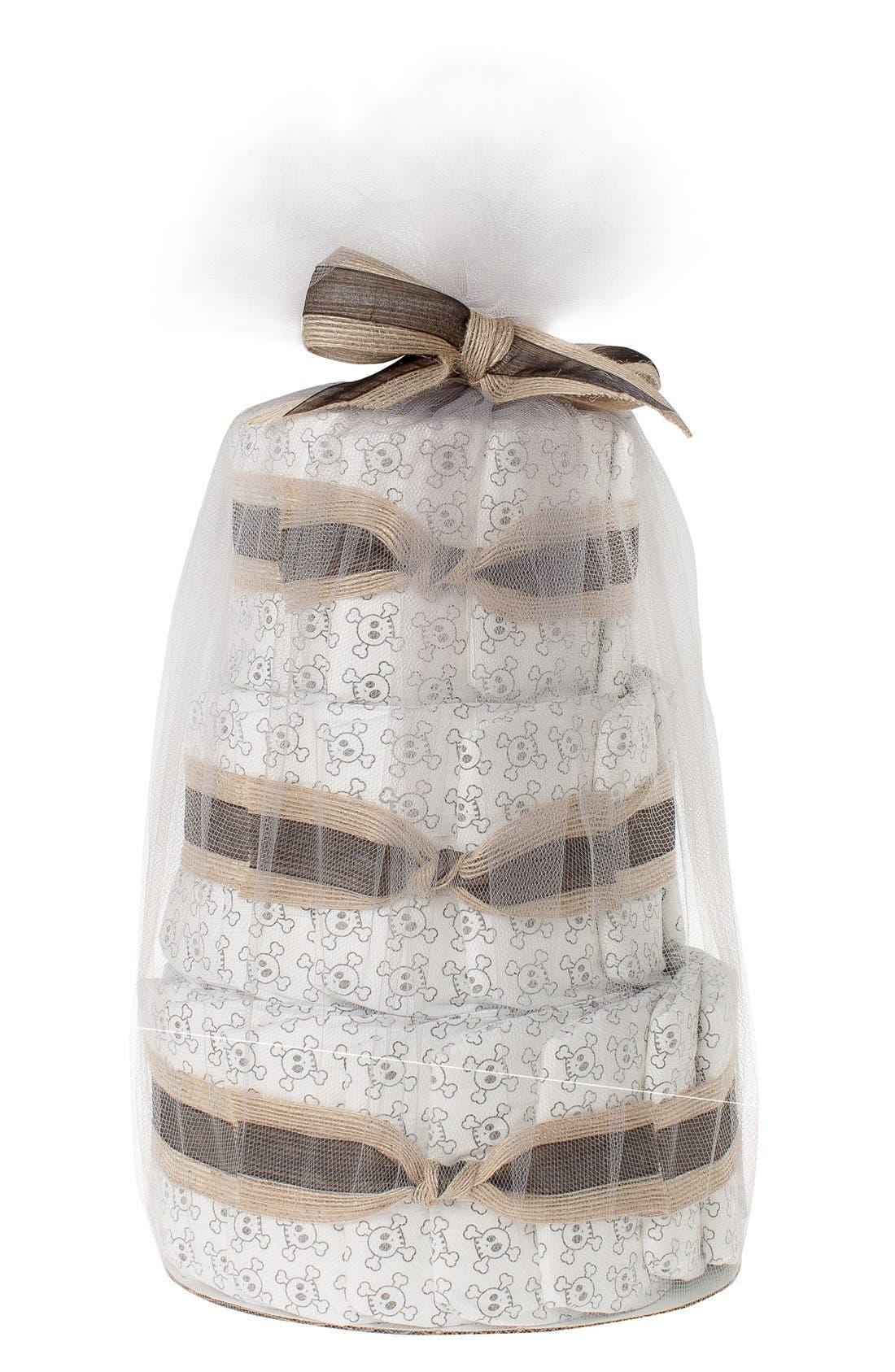 ,                             Mini Diaper Cake & Travel-Size Essentials Set,                             Main thumbnail 8, color,                             200