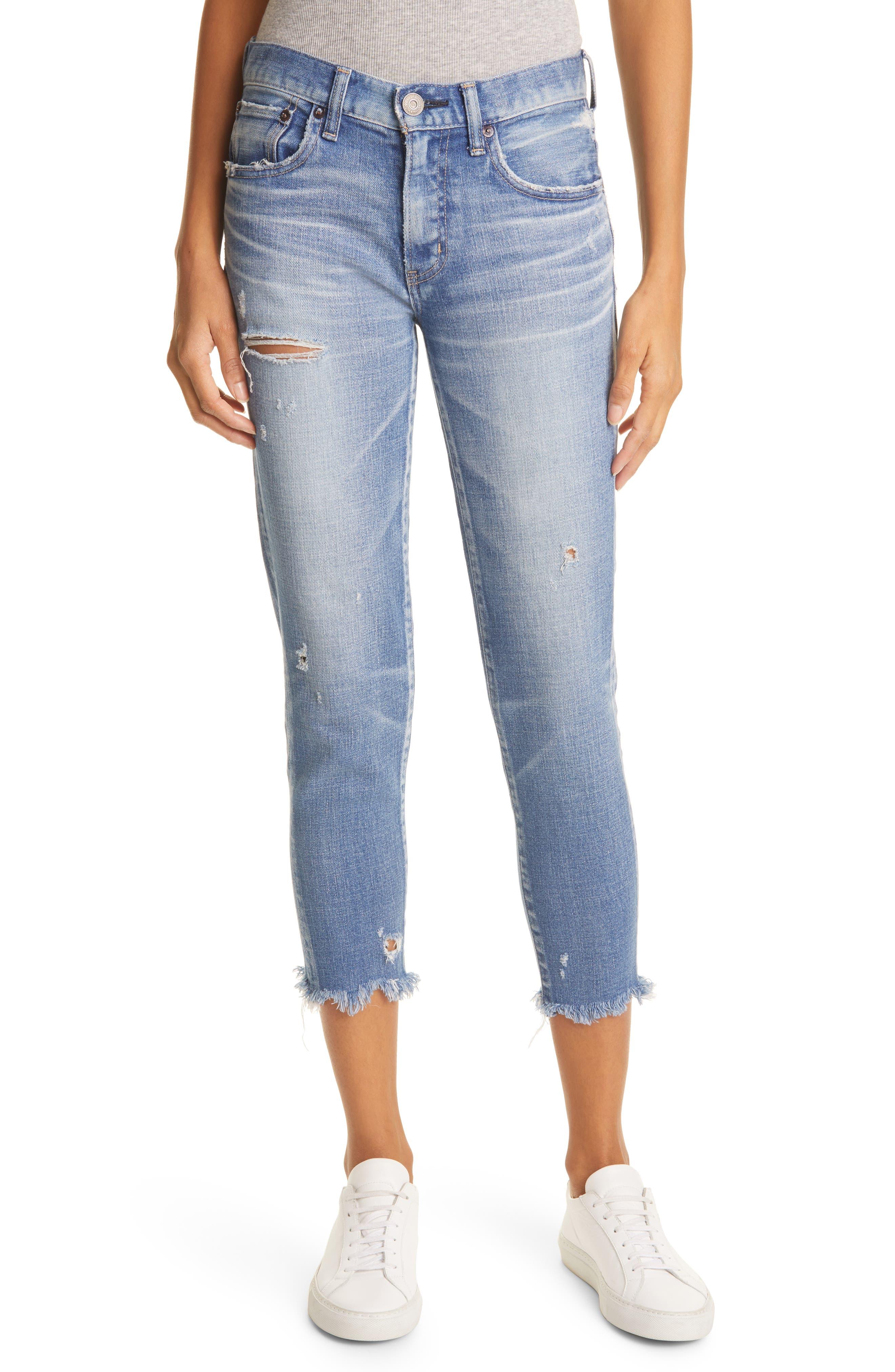 Diana Frayed Hem Skinny Jeans