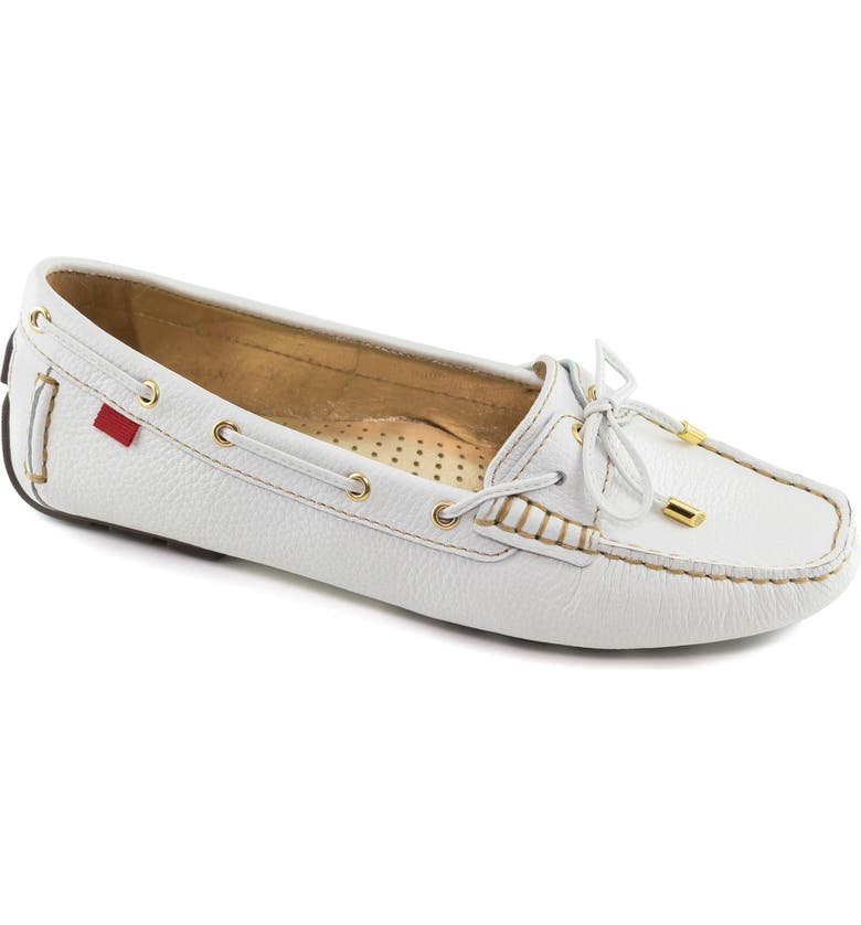 MARC JOSEPH NEW YORK Rockaway Loafer, Main, color, WHITE LEATHER