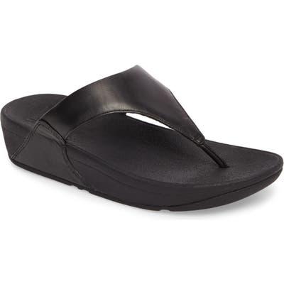 Fitflop Lulu Flip Flop, Black