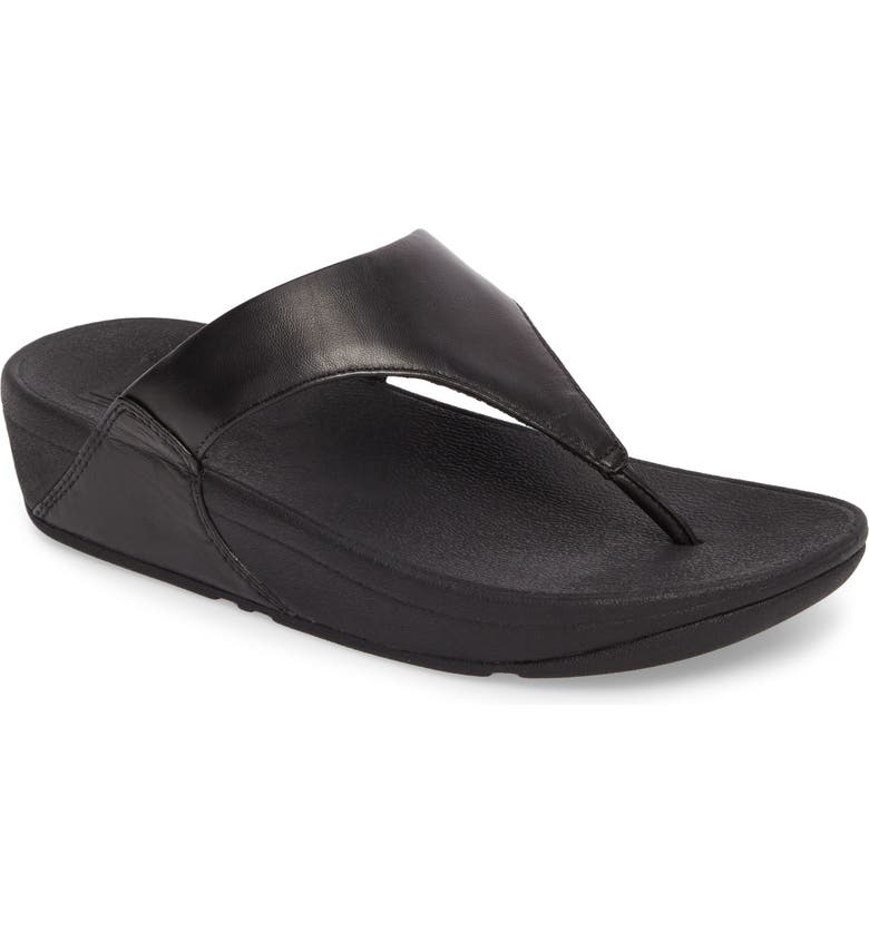 FITFLOP Lulu Flip Flop, Main, color, BLACK