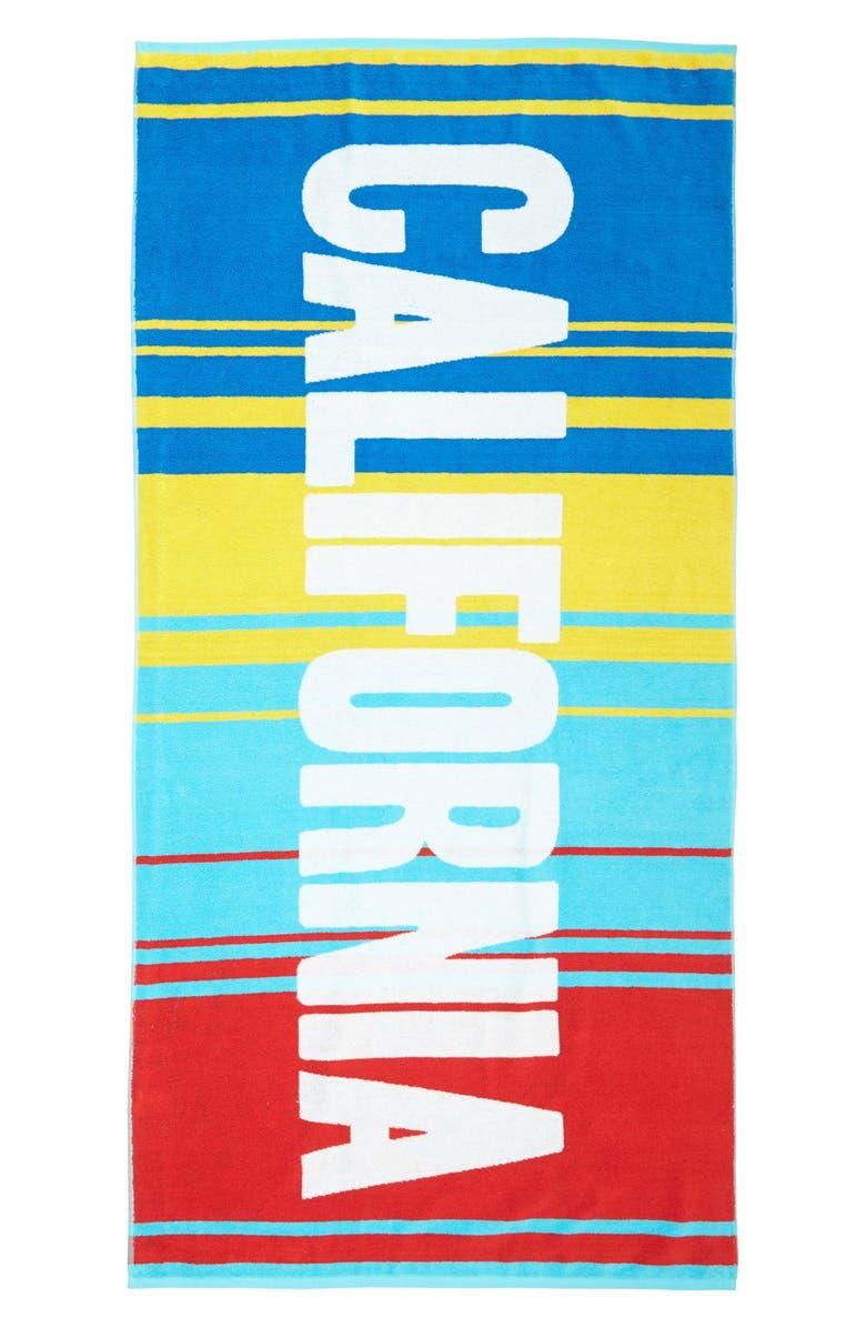 SISTERS OF LOS ANGELES Beach Towel, Main, color, 100