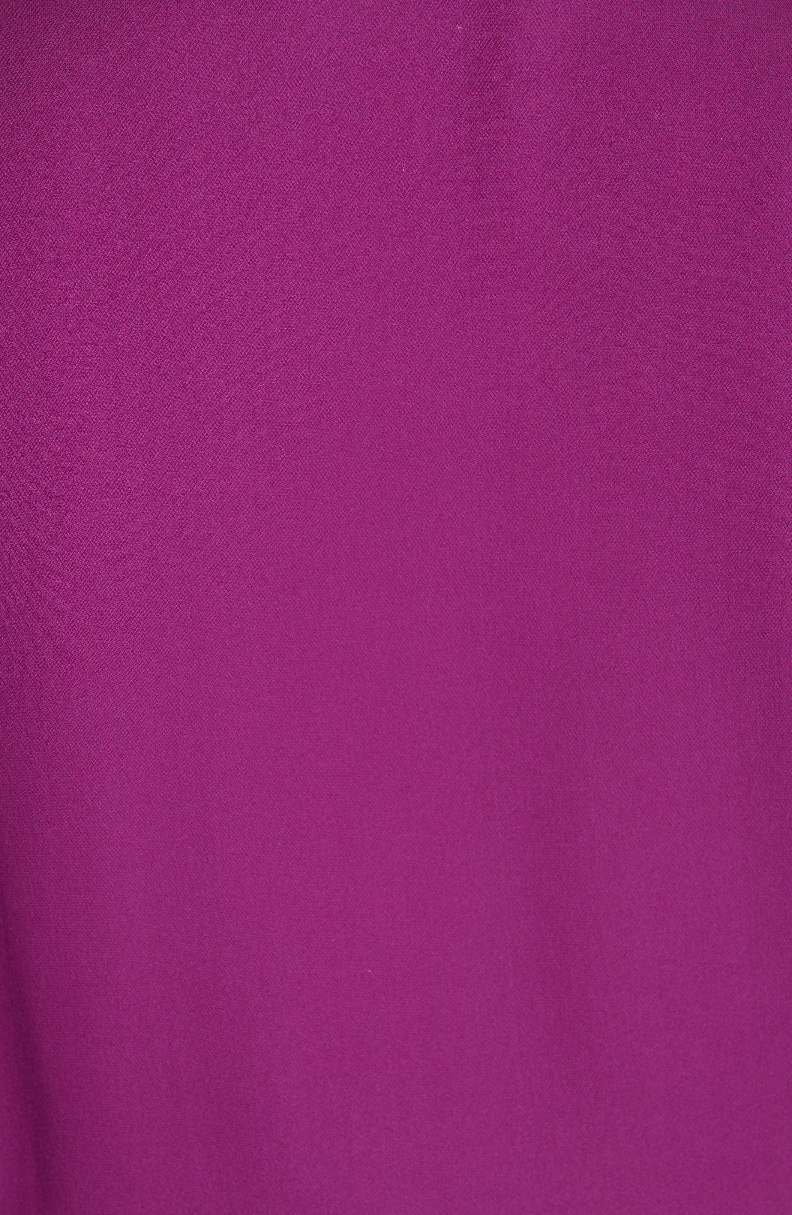 ,                             Stanwyck Ruffle Silk Dress,                             Alternate thumbnail 6, color,                             500