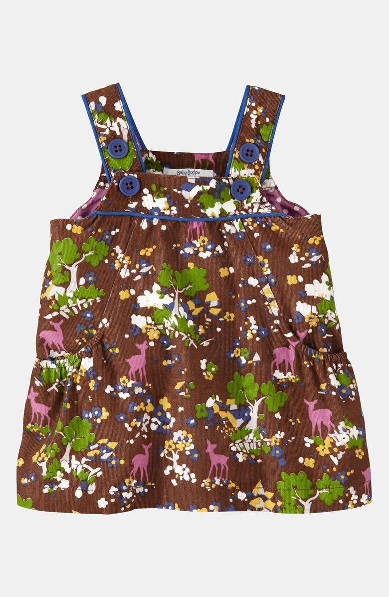 MINI BODEN Corduroy Dress, Main, color, 214