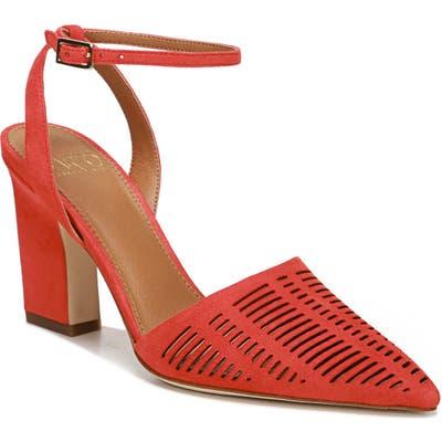 Sarto By Franco Sarto Starla Ankle Strap Pump, Red
