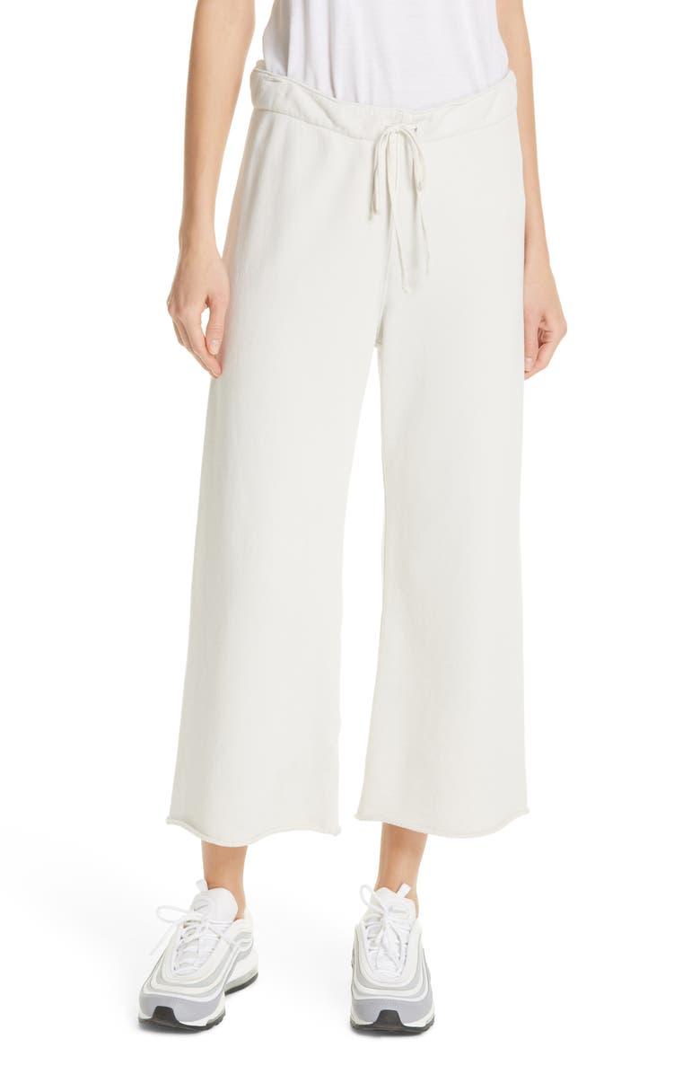 NILI LOTAN Kiki Sweatpants, Main, color, CHALK