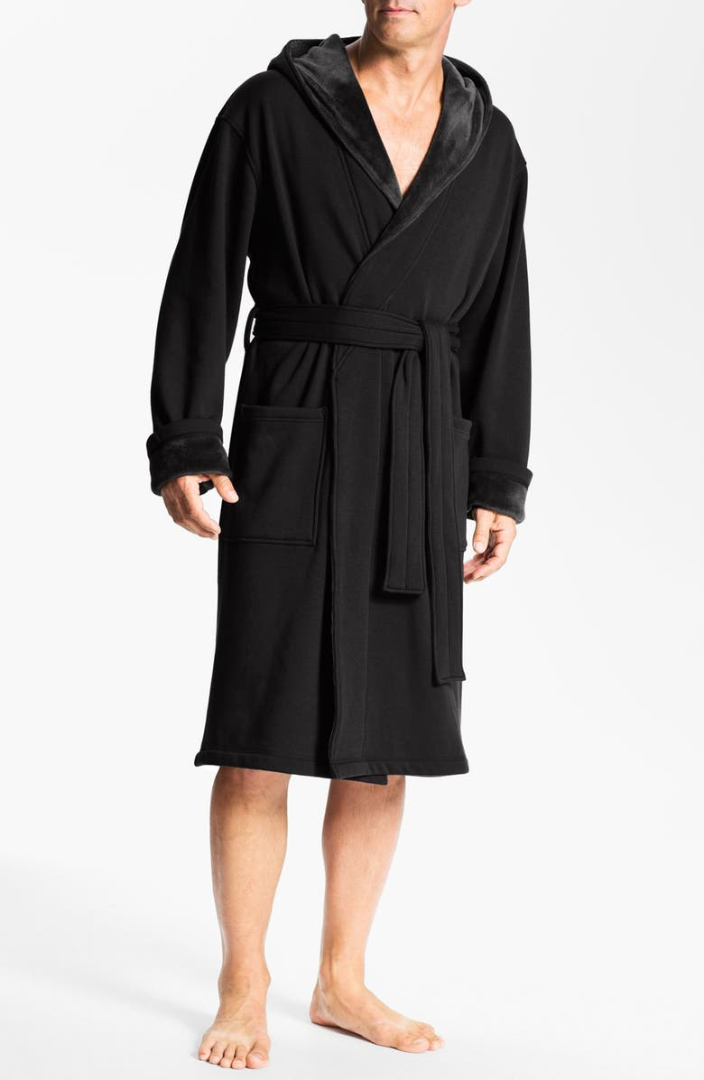 UGG<SUP>®</SUP> 'Brunswick' Robe, Main, color, 001