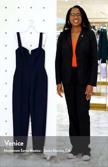 The Dita Notched Neck Jumpsuit, sales video thumbnail