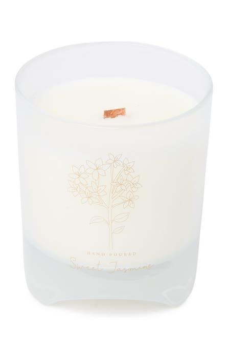 DW HOME - Blomma White 12 oz. Sweet Jasmine Candle