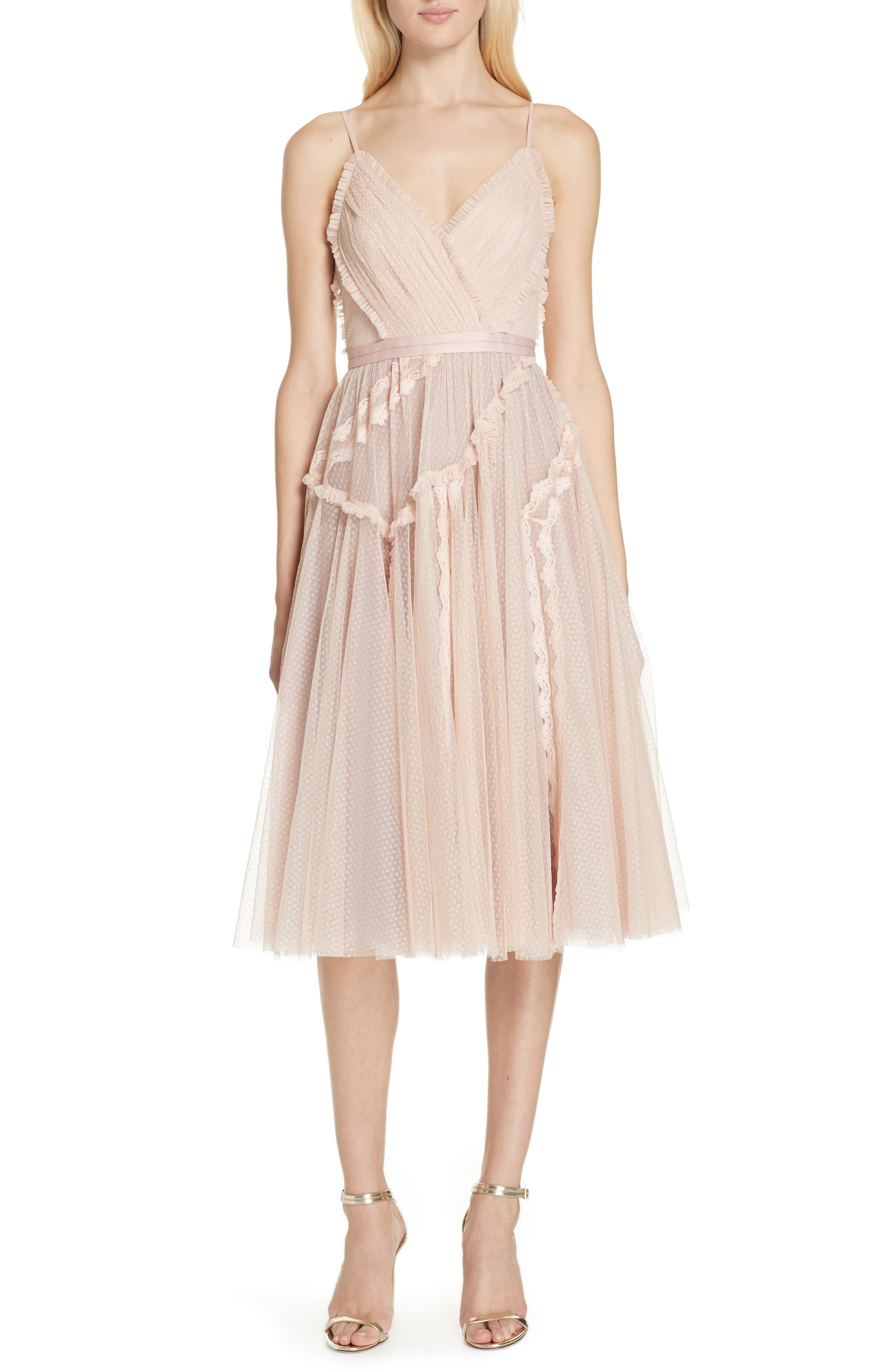 Needle & Thread Ballet Lace Midi Dress