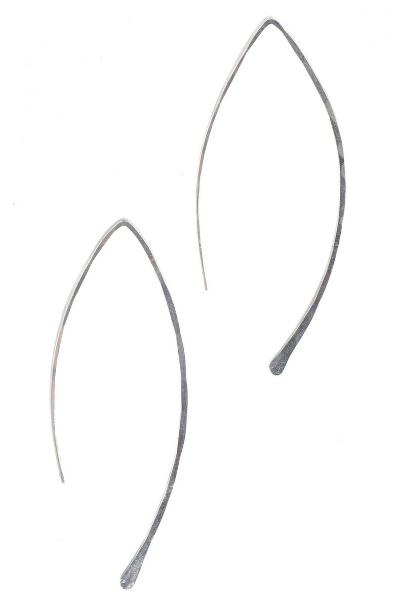 TERESSA LANE JEWELRY Hammered Threader Earrings, Main, color, 040
