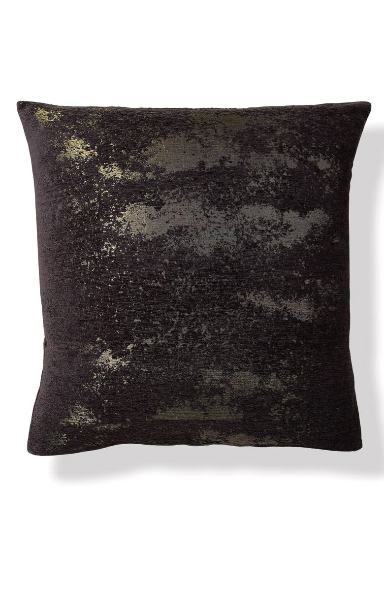 DONNA KARAN NEW YORK Onyx Euro Sham, Main, color, ONYX