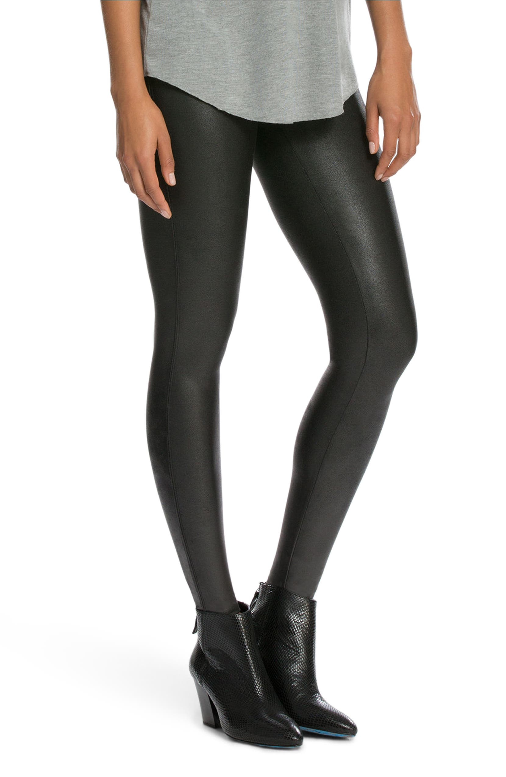 0708265f34d13 SPANX® Faux Leather Leggings | Nordstrom