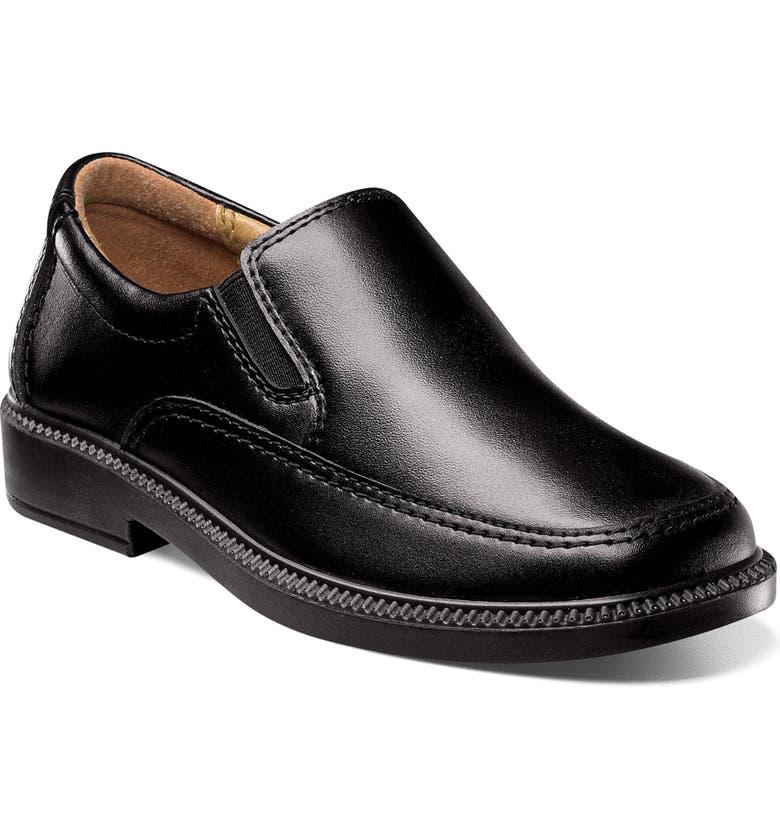 FLORSHEIM 'Bogan' Slip-On, Main, color, BLACK