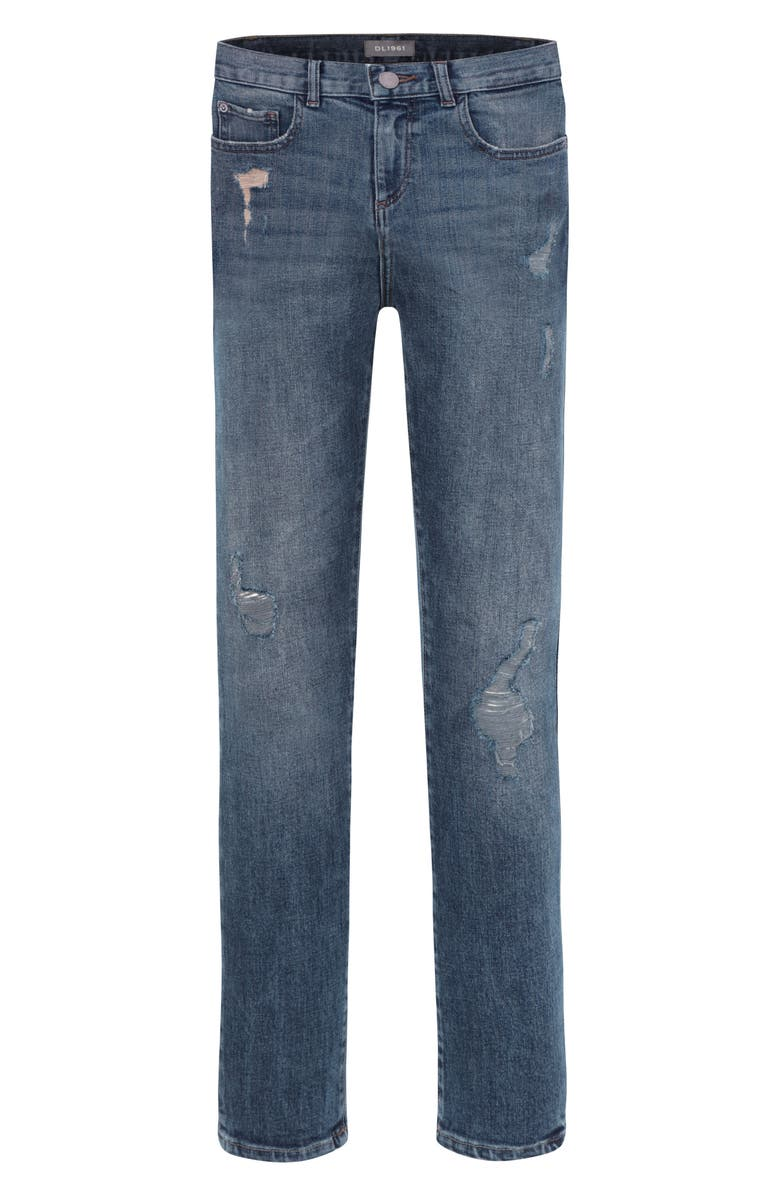DL1961 Distressed Skinny Jeans, Main, color, ULTIMATE