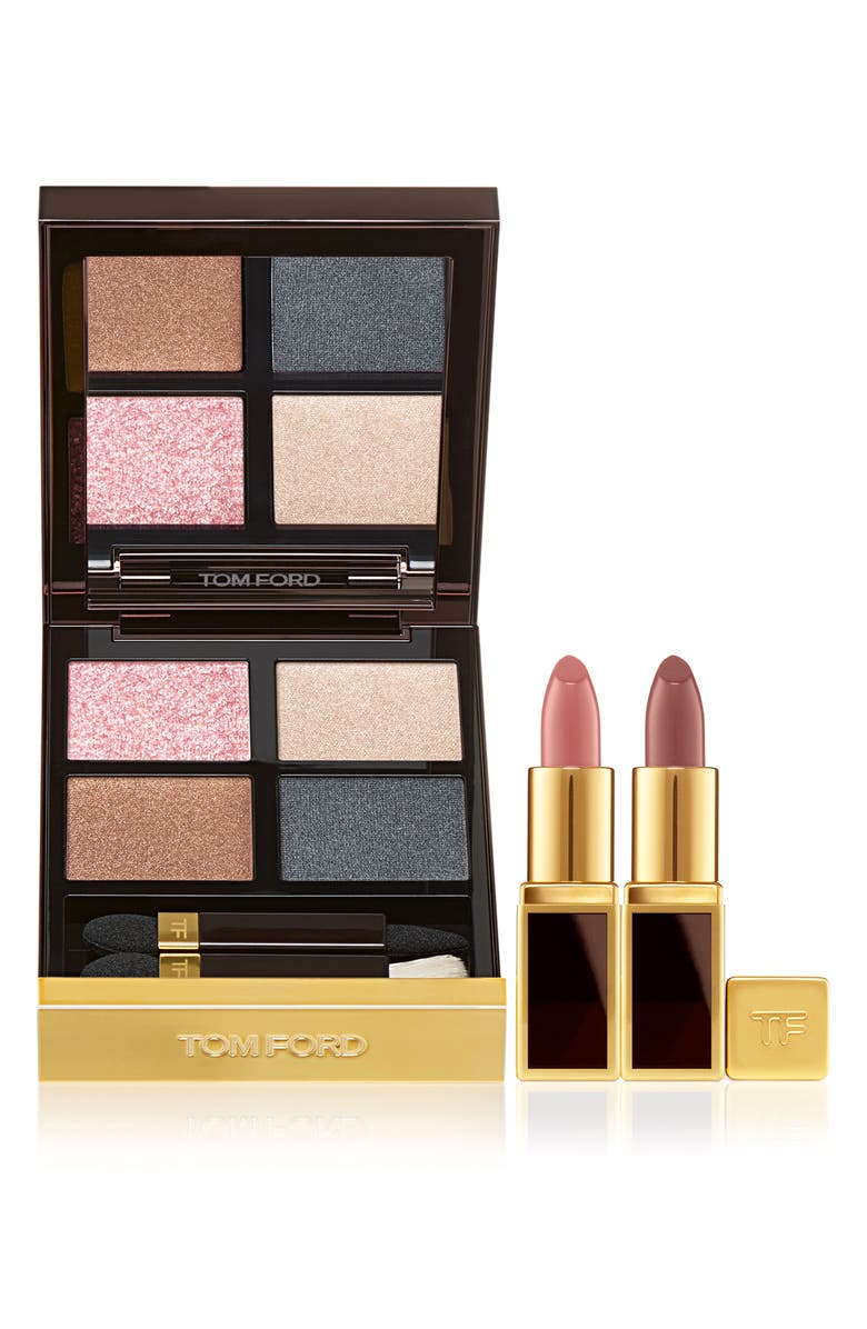 TOM FORD Eye Color Quad & Mini Deluxe Lip Set, Main, color, NO COLOR
