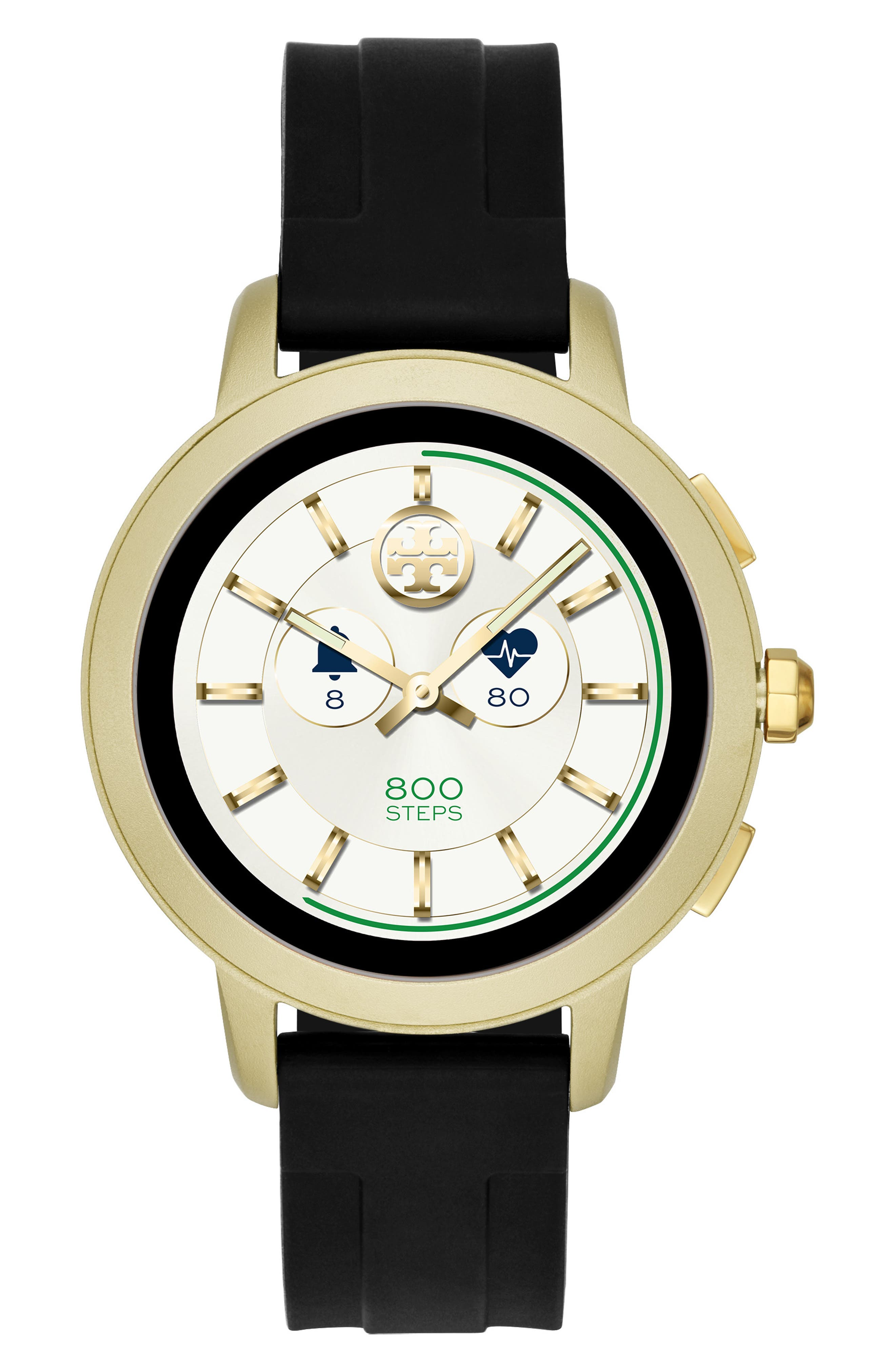 Image of Tory Burch Women's Silicone Strap Smart Watch, 42mm