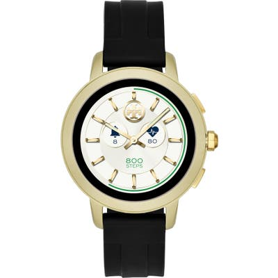 Tory Burch Torytrack Touchscreen Silicone Smart Watch, 42Mm
