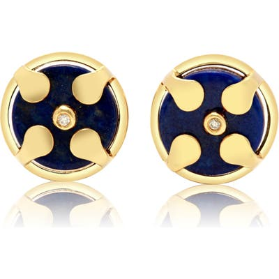 Conges Protection & Awareness Lapis Lazuli Stud Earrings