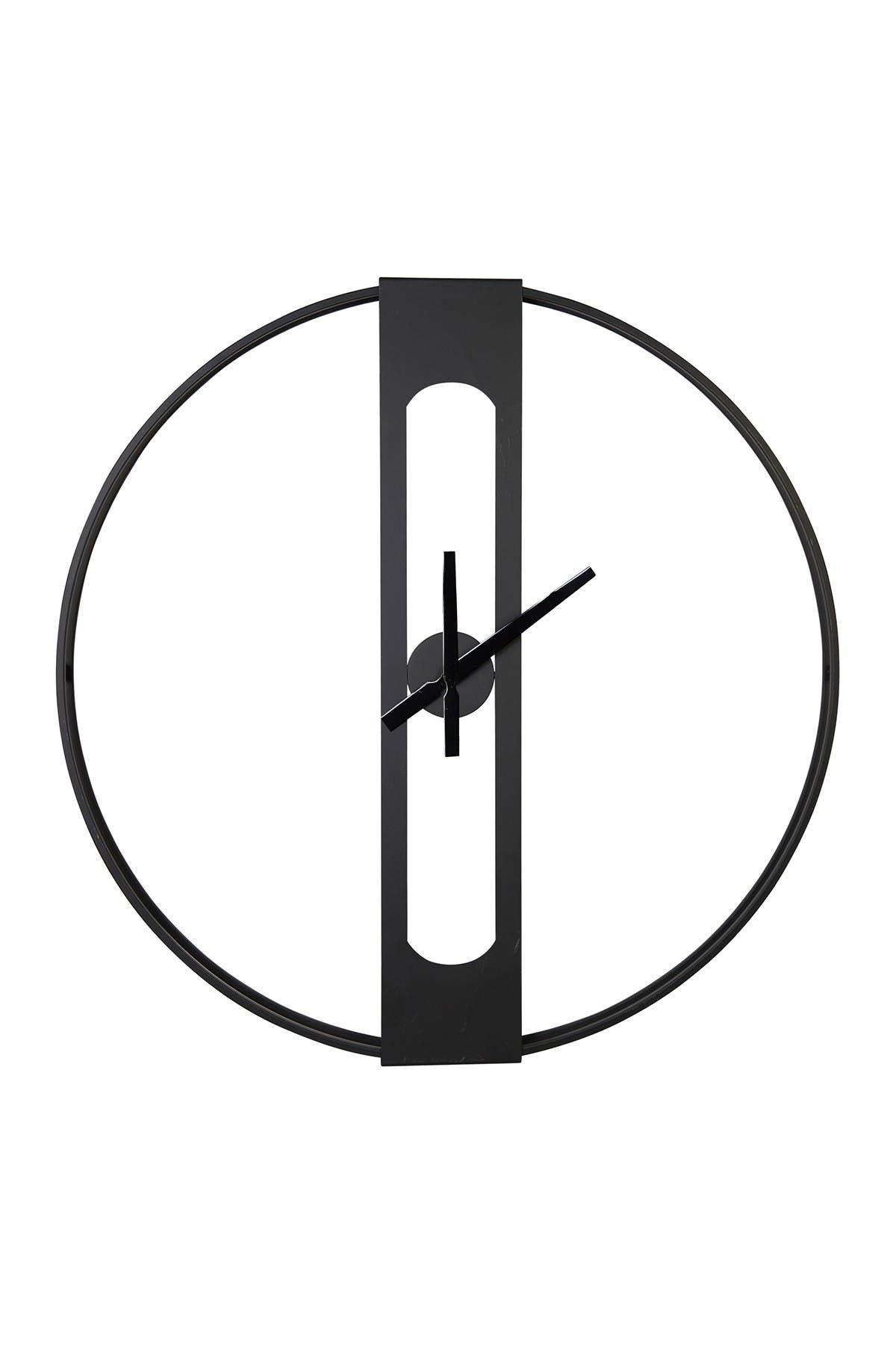 Image of Stratton Home Chase Metal Wall Clock