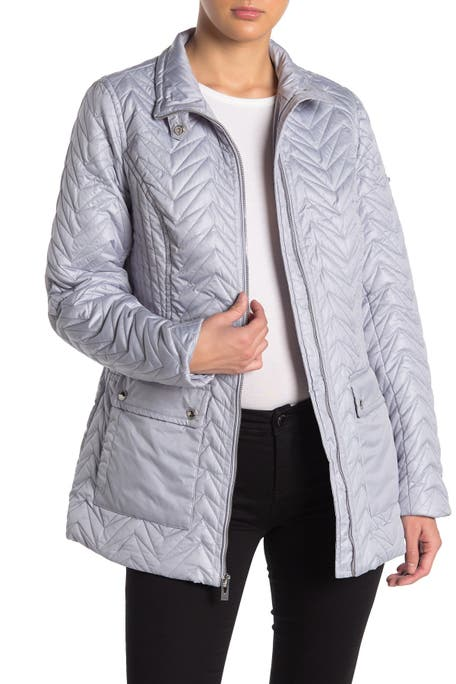 Via Spiga - Quilted Cargo Jacket