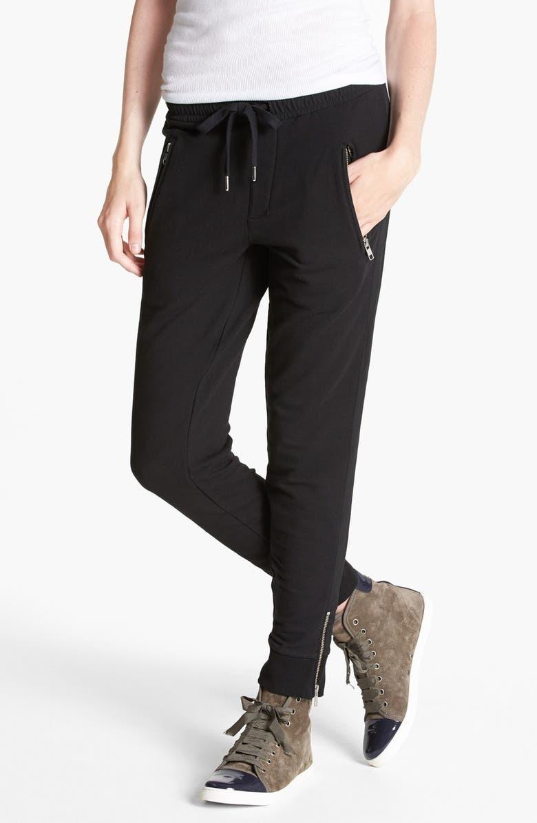 THE KOOPLES Side Stripe Sweatpants, Main, color, 001