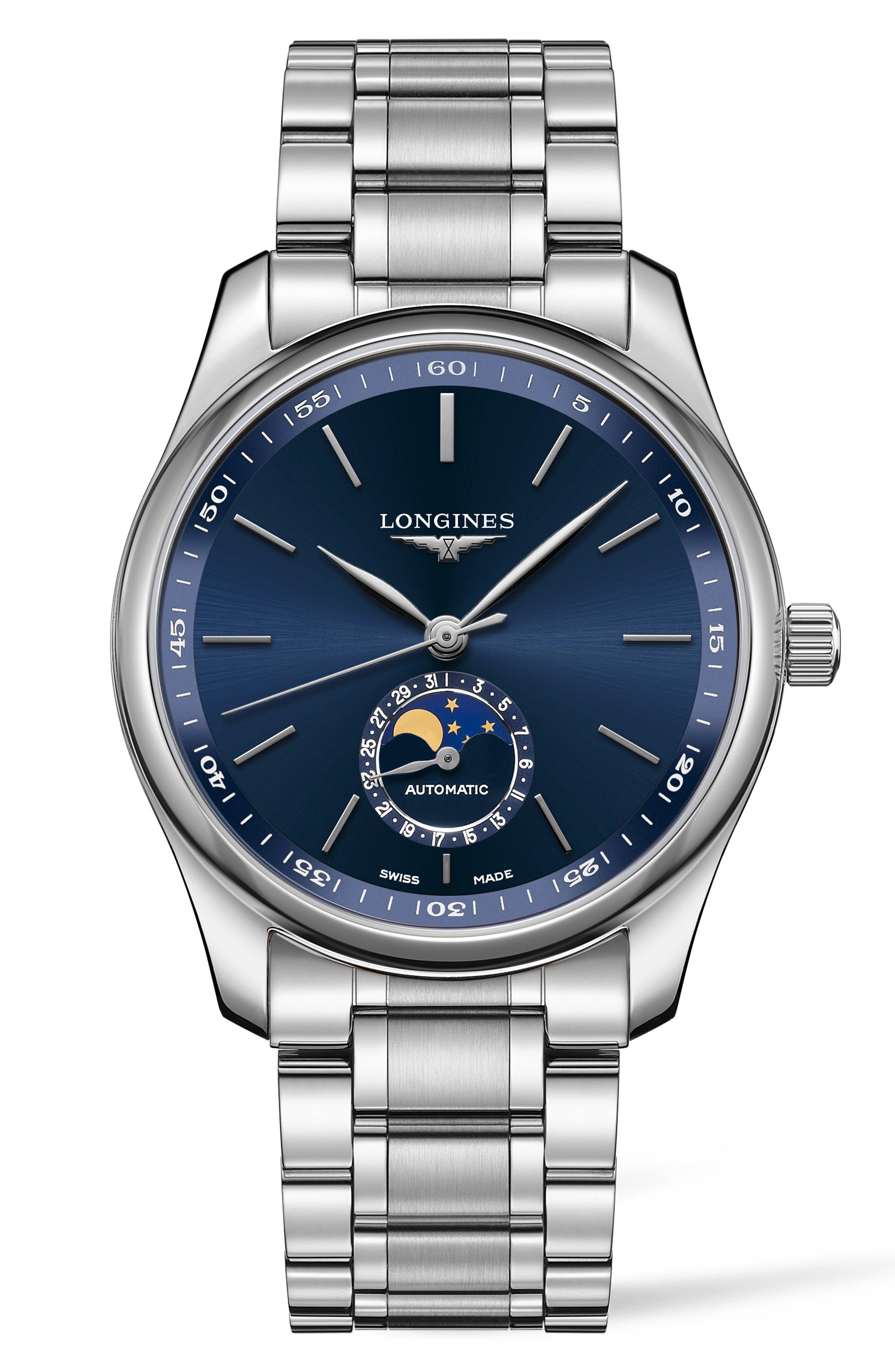 Master Automatic Bracelet Watch