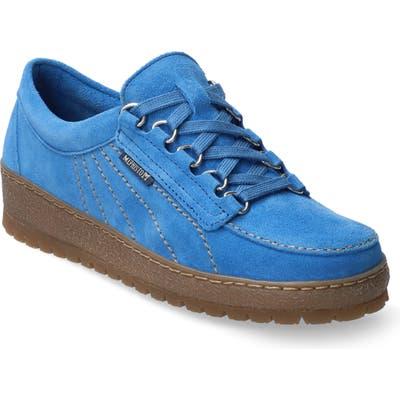 Mephisto Lady Low Top Sneaker, Blue
