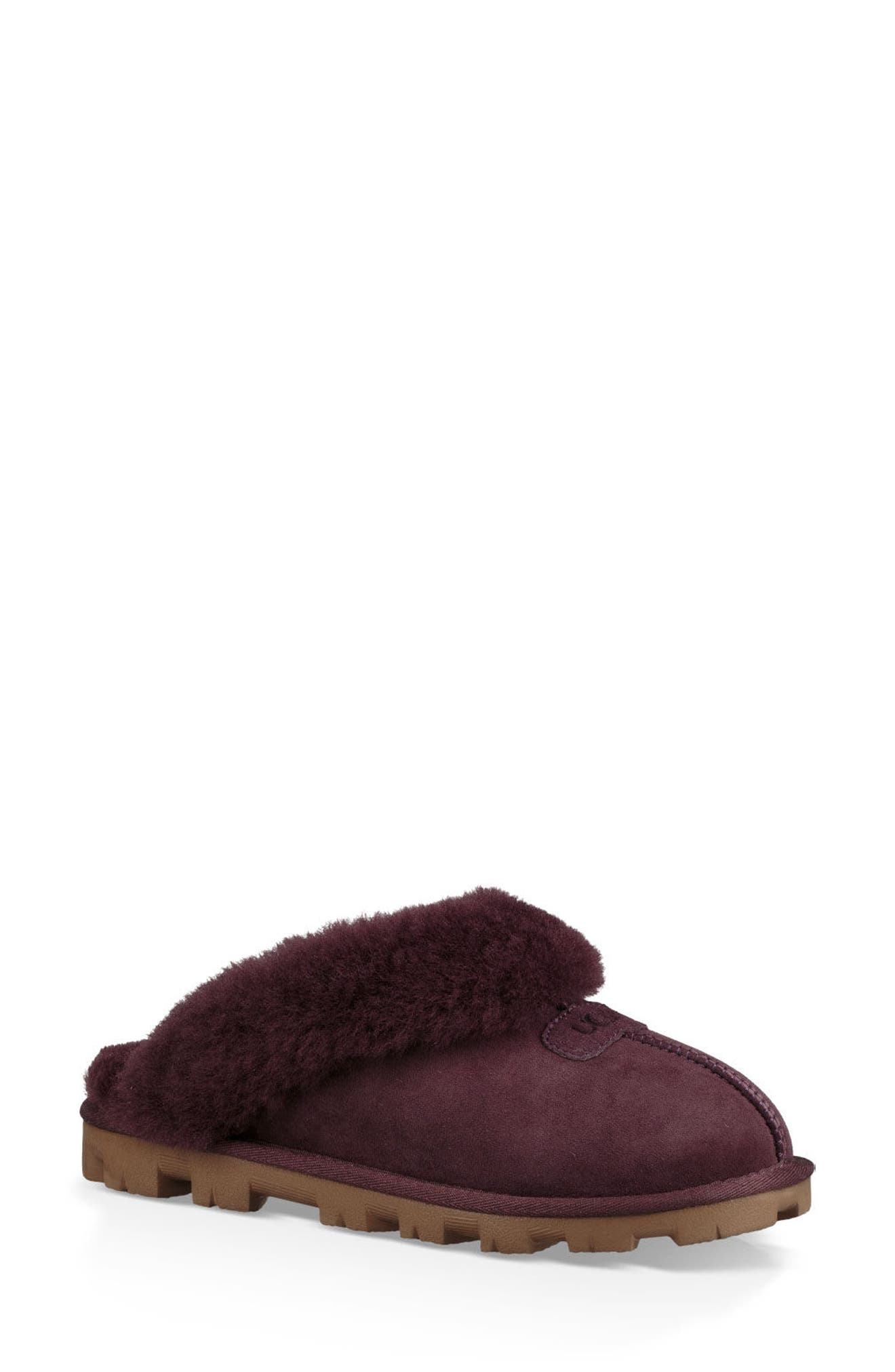 ,                             Genuine Shearling Slipper,                             Main thumbnail 63, color,                             553