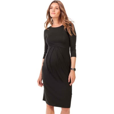 Isabella Oliver Ivybridge Jersey Maternity Dress, Black