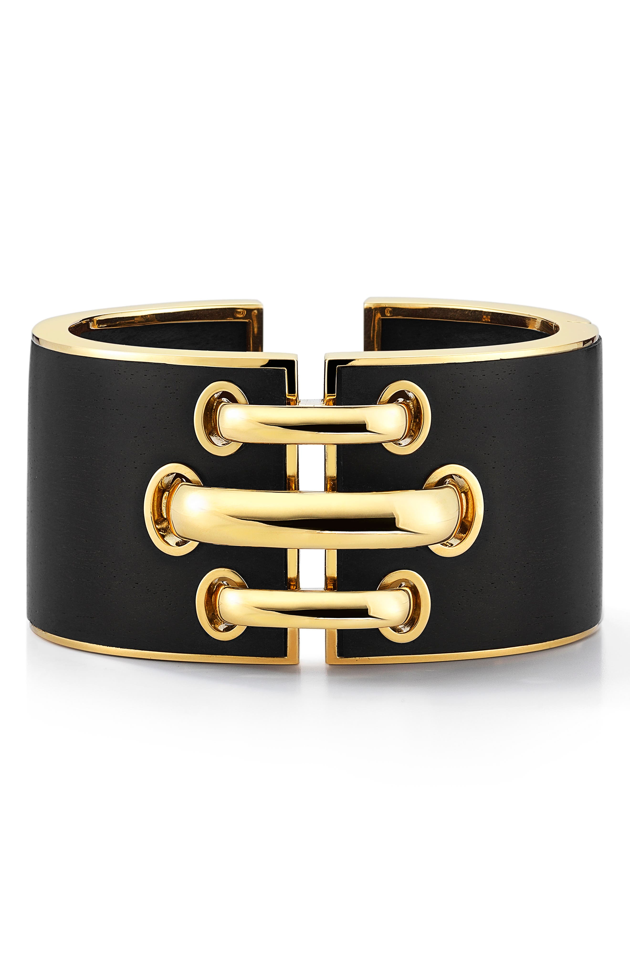 Woodworks Shoelace Cuff Bracelet