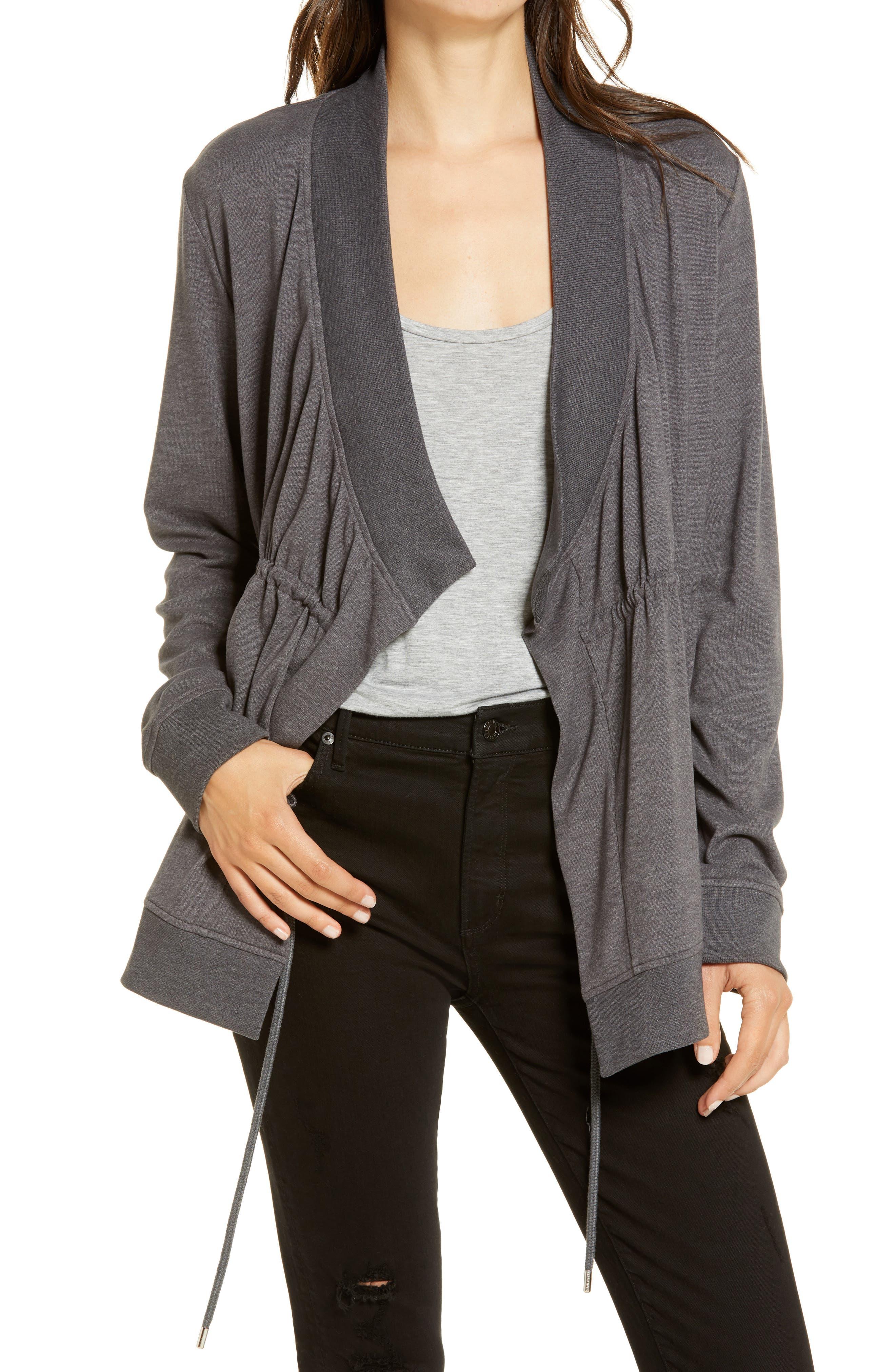 ALLSAINTS Gina Drape Jacket | Nordstrom