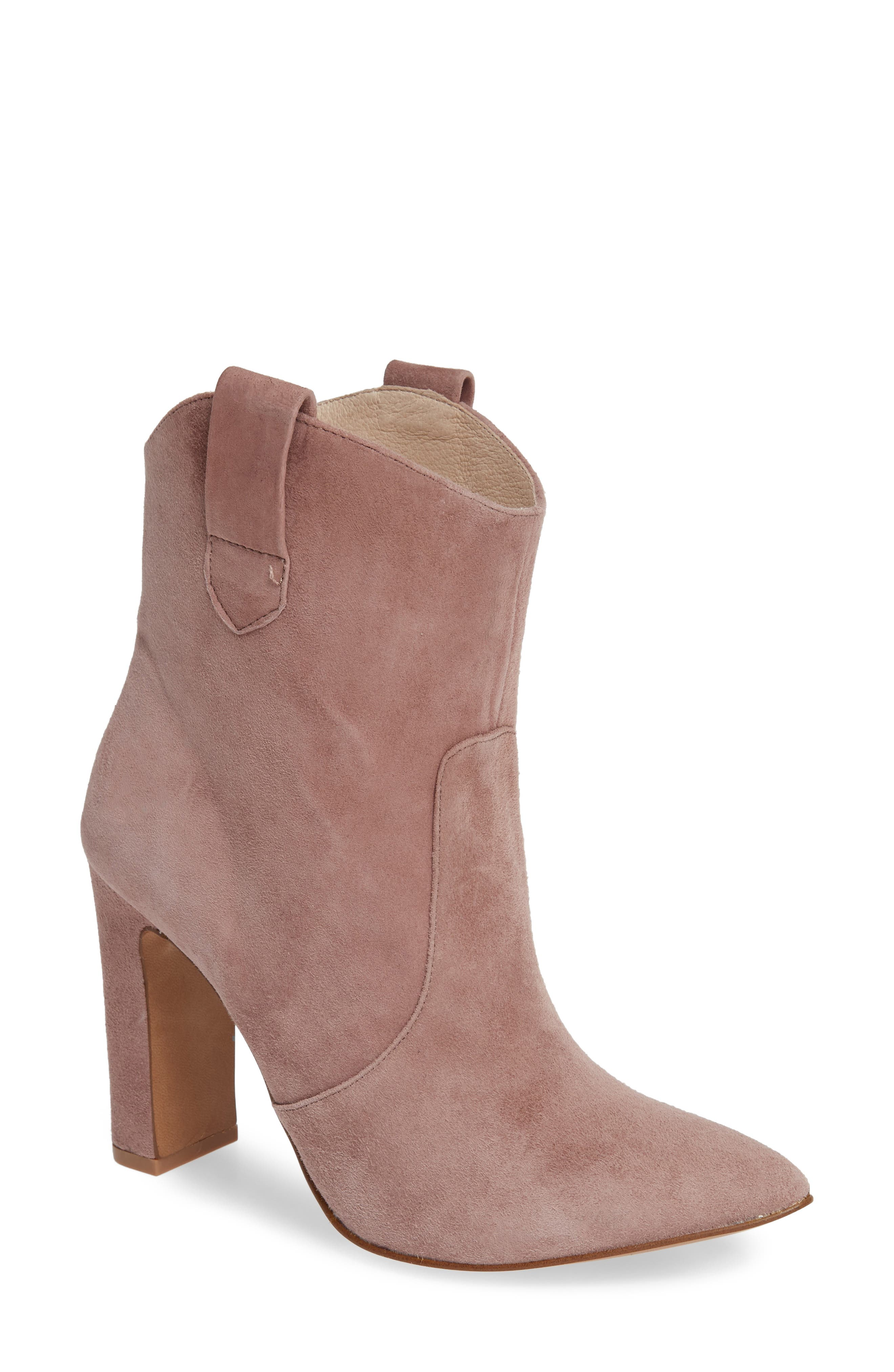 ,                             Karly Suede Bootie,                             Main thumbnail 13, color,                             500