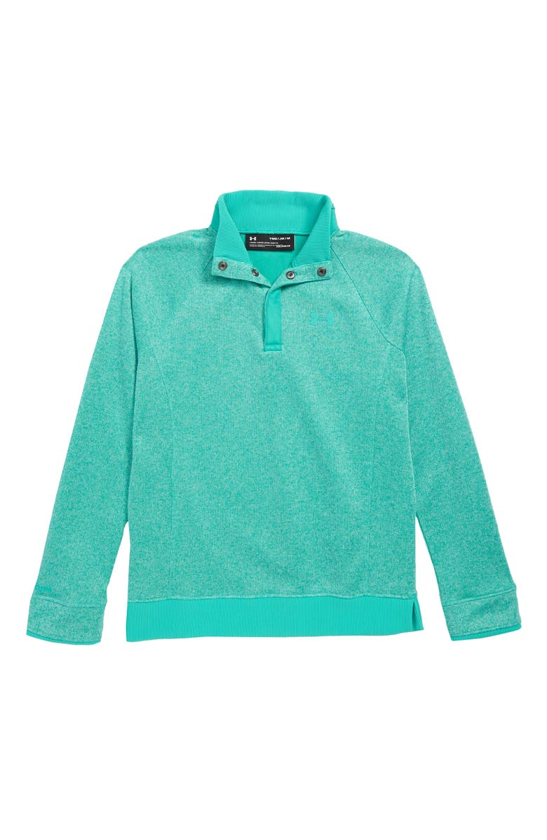 UNDER ARMOUR Storm Half Snap Water Repellent Pullover, Main, color, 349