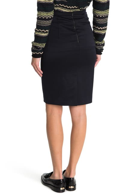 Image of Burberry Pencil Skirt