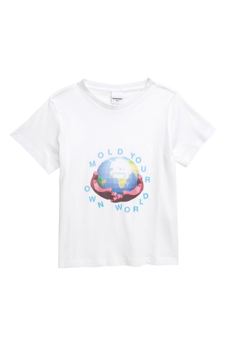 SUPERISM Have a Heart T-Shirt, Main, color, BLACK