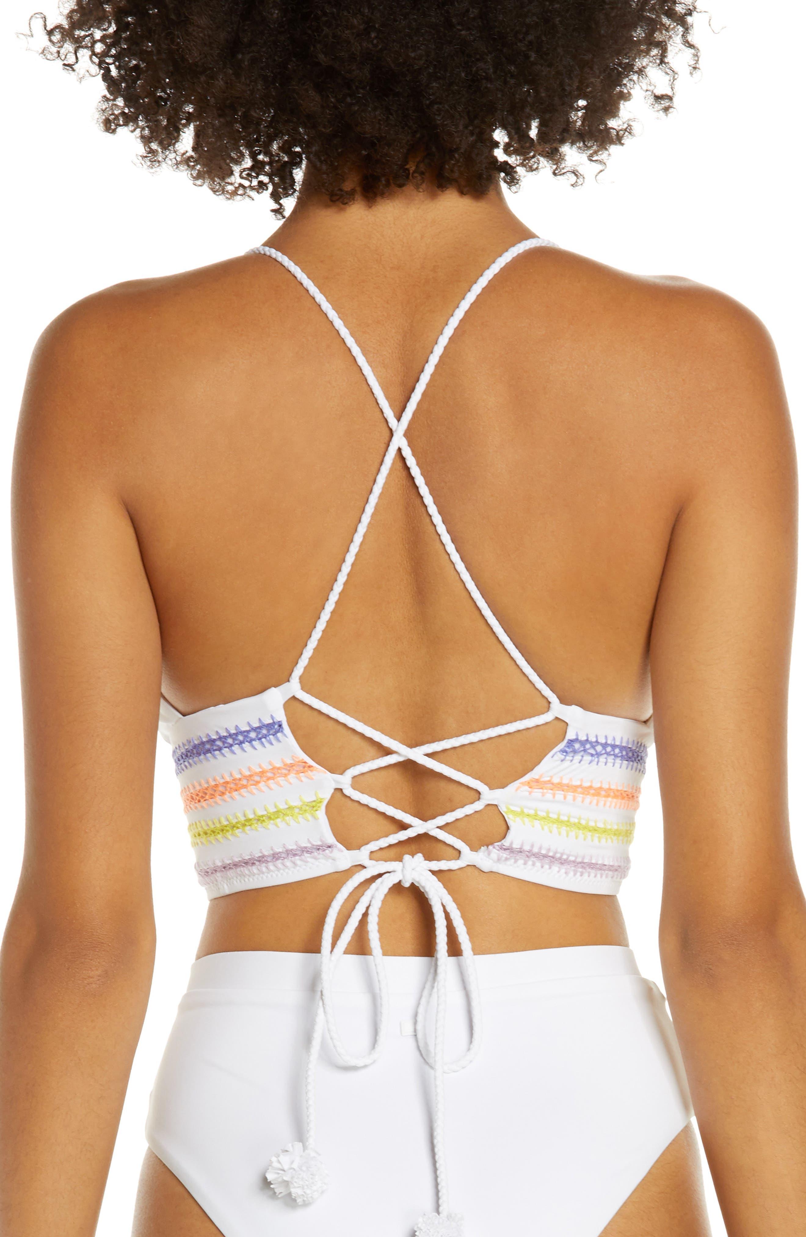 ,                             Kokomo Bikini Top,                             Alternate thumbnail 2, color,                             WHITE