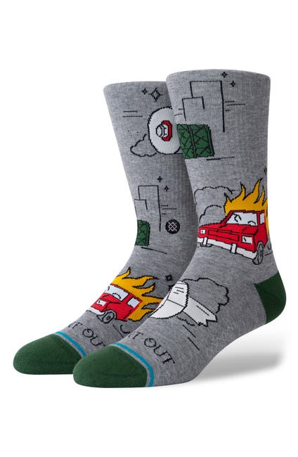 Image of Stance Burnt Out Crew Socks