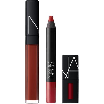 Nars Lip Wardrobe Trio - Red (Nordstrom Exclusive) ($68 Value)