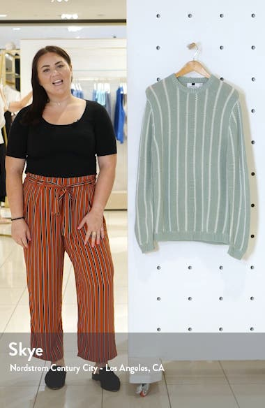 Chunky Stripe Sweater, sales video thumbnail