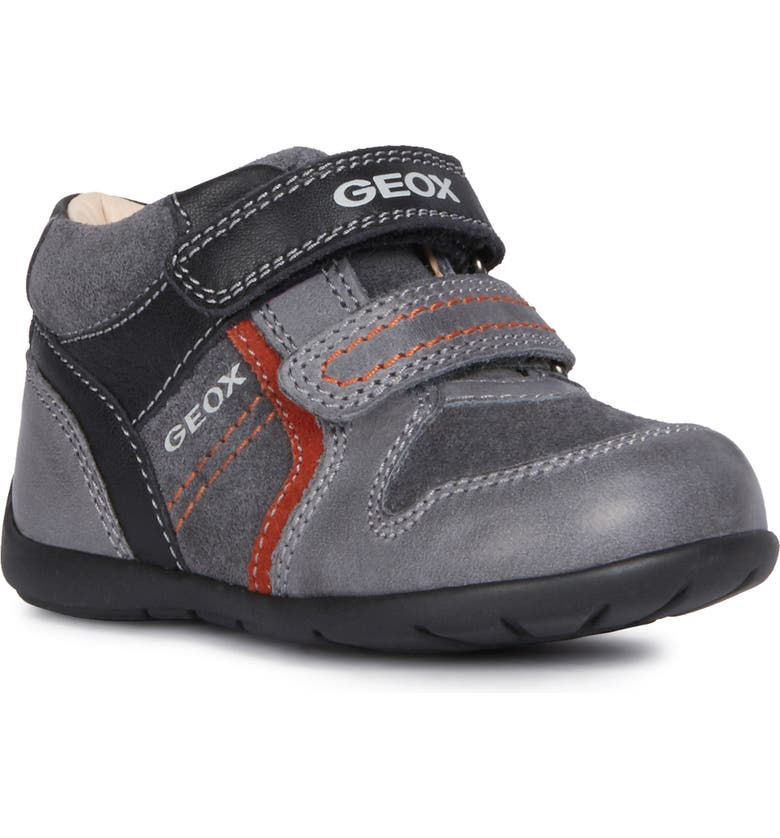 GEOX Kaytan 43 Sneaker, Main, color, ANTHRACITE/ DARK GREY